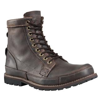 "Timberland 6"" Earthkeepers Rugged Dark Brown Oiled Nubuck"
