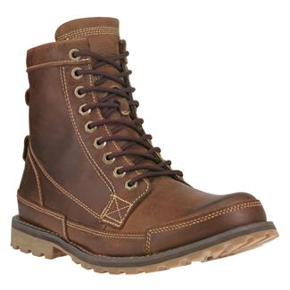 "Timberland 6"" Earthkeepers Rugged Red Brown Burnished"