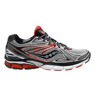 Saucony Hurricane 15 Silver / Red / Black