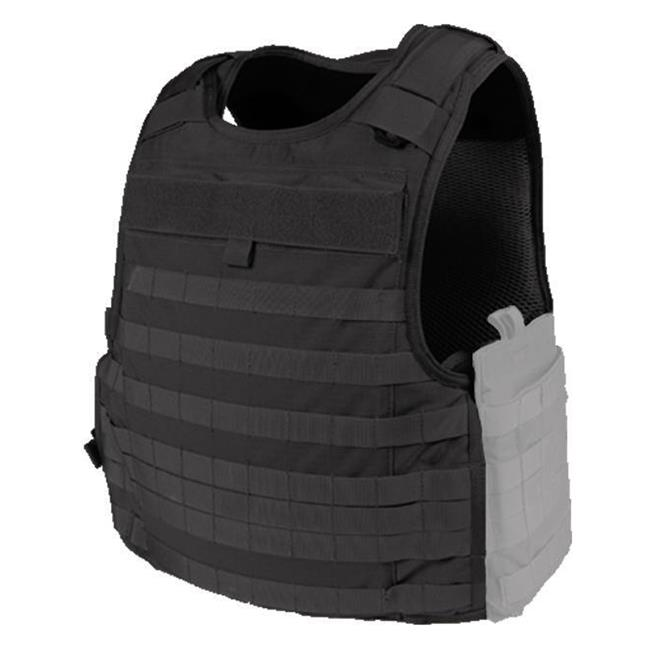 Blackhawk 3D Mesh Lined Cutaway Tactical Armor Carrier Black