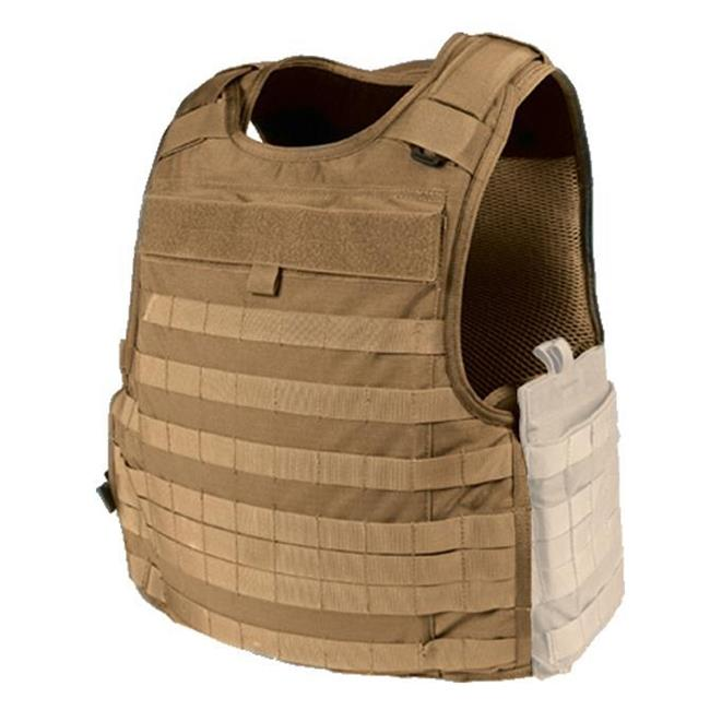 Blackhawk 3D Mesh Lined Cutaway Tactical Armor Carrier Coyote Tan