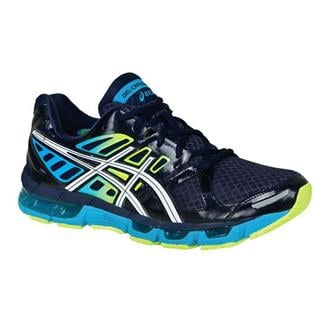 ASICS GEL-Cirrus33 2 Navy / White / Flash Yellow