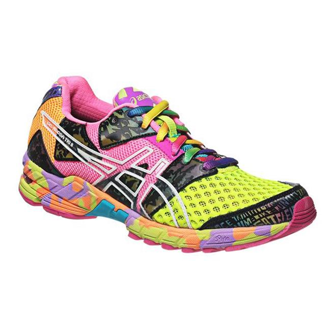 ASICS GEL-Noosa Tri 8 Flash Yellow / Flash Pink / Multi