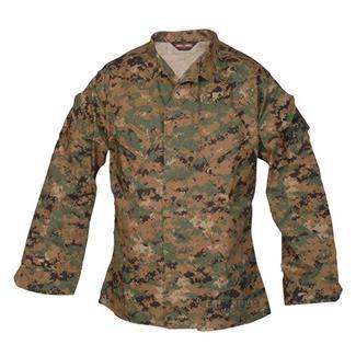TRU-SPEC Poly / Cotton Twill Digital Battle Shirts Digital Woodland