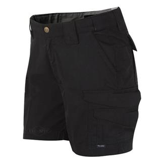 24-7 Series Poly / Cotton Ripstop Shorts Black