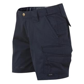 24-7 Series Poly / Cotton Ripstop Shorts Navy