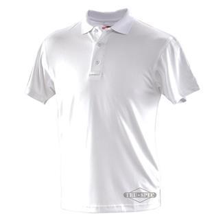 24-7 Series Short Sleeve Performance Polos White