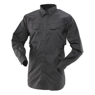 24-7 Series Ultralight LS Field Shirts Black