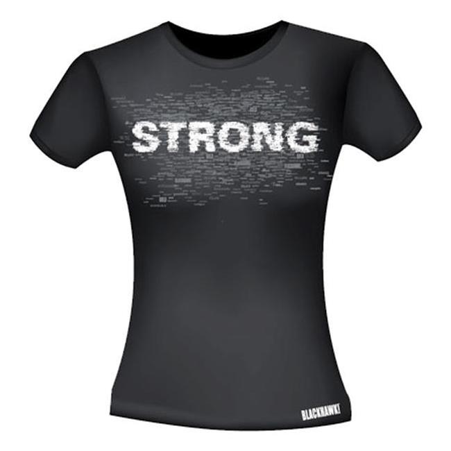 Blackhawk Bold Graphic T-Shirts Black