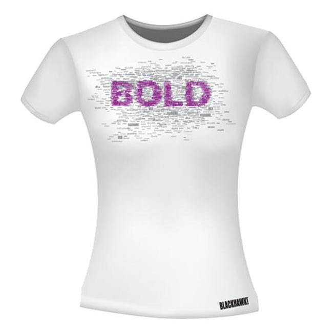 Blackhawk Bold Graphic T-Shirts White