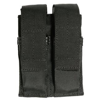 Blackhawk Belt Mounted Double Pistol Mag Pouch Black