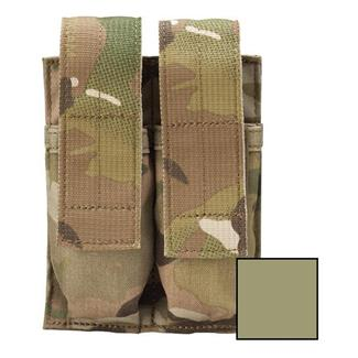 Blackhawk Belt Mounted Double Pistol Mag Pouch Coyote Tan