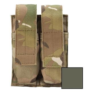 Blackhawk Belt Mounted Double Pistol Mag Pouch Olive Drab