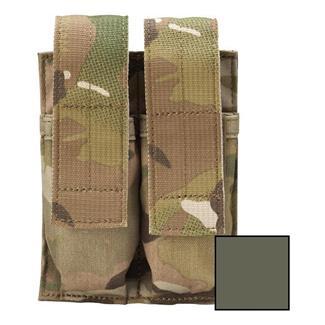 Blackhawk Belt Mounted Double Pistol Mag Pouch Olive Drab