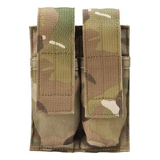 Blackhawk Belt Mounted Double Pistol Mag Pouch MultiCam