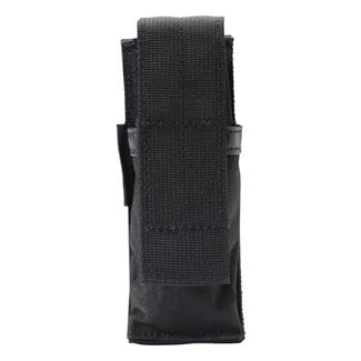 Blackhawk Single Pistol Mag Pouch with Hook & Loop Attachment Black