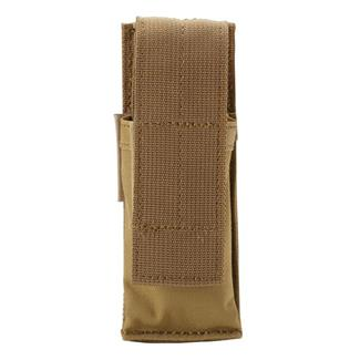 Blackhawk Single Pistol Mag Pouch with Hook & Loop Attachment Coyote Tan