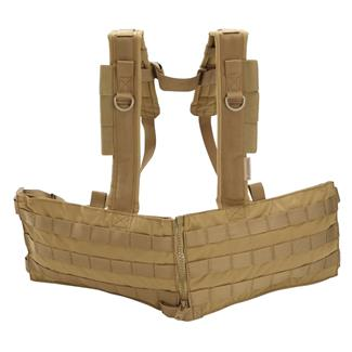 Blackhawk Split Front Chest Rig Coyote Tan