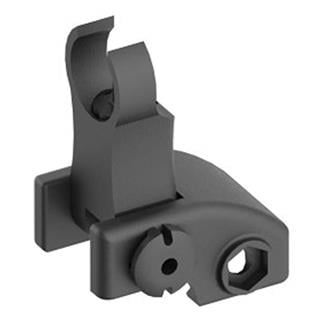 Blackhawk Folding Front Back-Up Iron Sight Black