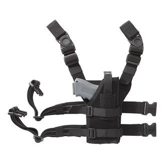 Blackhawk Omega VI Universal Ambidextrous Drop Leg Holster Black