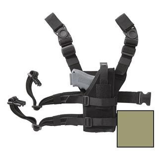 Blackhawk Omega VI Universal Ambidextrous Drop Leg Holster Coyote Tan