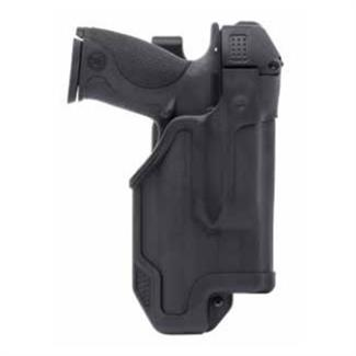 Blackhawk Epoch Molded Light Bearing Duty Holster Black Matte