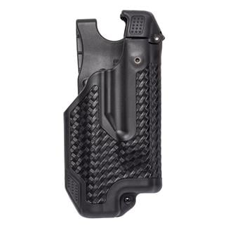 Blackhawk Epoch Molded Light Bearing Duty Holster Basket Weave Black