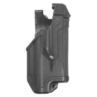 Blackhawk Epoch Molded Light Bearing Duty Holster Black Plain