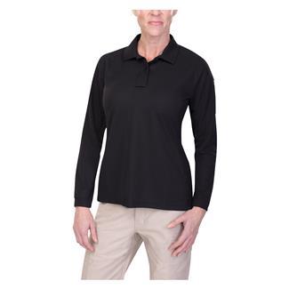 Vertx Coldblack Long Sleeve Polo Black