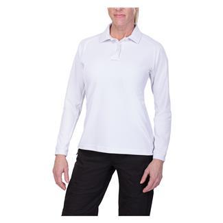 Vertx Coldblack Long Sleeve Polo White