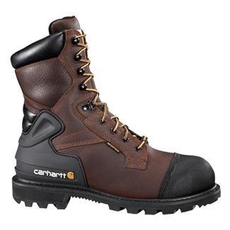 "Carhartt 8"" CSA Work 400G ST WP Pebble Brown"