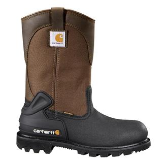"Carhartt 11"" CSA Wellington 400G ST WP Black / Brown"