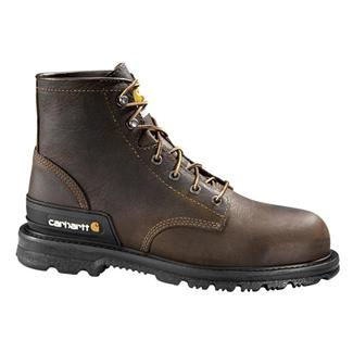 "Carhartt 6"" Unlined Work Dark Brown"