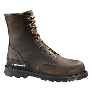 "Carhartt 8"" Unlined Work Dark Brown"