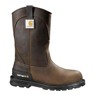 "Carhartt 11"" Unlined Wellington ST Dark Brown"