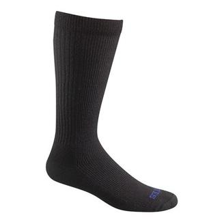 Bates Thermal Uniform Mid Calf Socks - 4 Pair Black