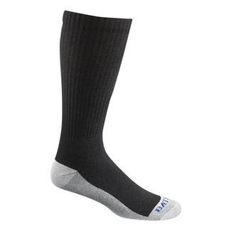 Bates Tactical Uniform Sensitive Mid Calf Socks - 4 Pair Black