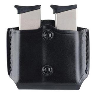 Gould & Goodrich Gold Line Paddle Style Double Mag Case Black