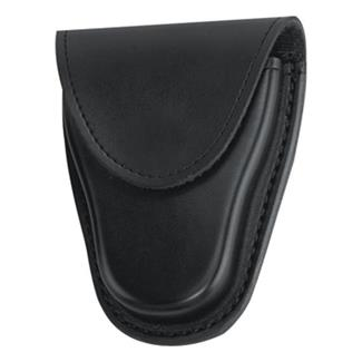 Gould & Goodrich K-Force Hidden Snap Hinged Handcuff Case Plain Black