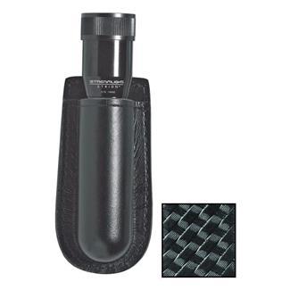 Gould & Goodrich K-Force Open Top Flashlight Case Black Basket Weave