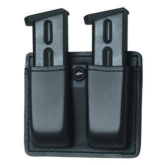 Gould & Goodrich K-Force Open Top Double Mag Case Black