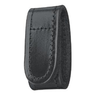 Gould & Goodrich Leather Belt Keeper Black Plain