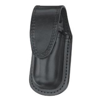 Gould & Goodrich Leather MK III Aerosol Case with Hidden Snap Black High Gloss