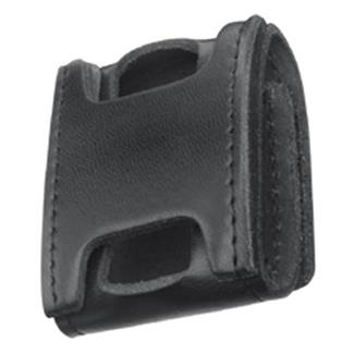 Gould & Goodrich Leather Pager Holder Black