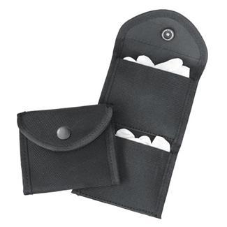 Gould & Goodrich Phoenix Two-Pocket Glove Case Nylon Black