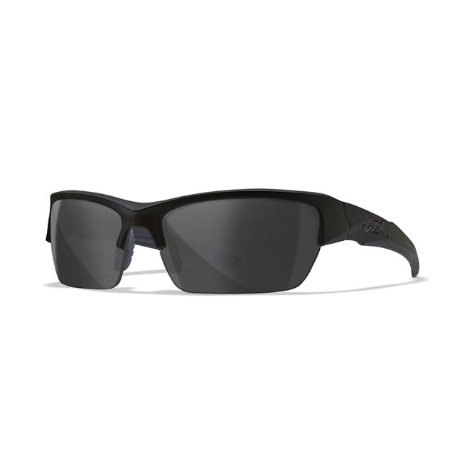 Wiley X Valor 1 Lens Matte Black Polarized Smoke Gray