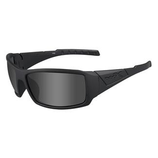 Wiley X Twisted Matte Black (frame) - Polarized Smoke Gray (lens)