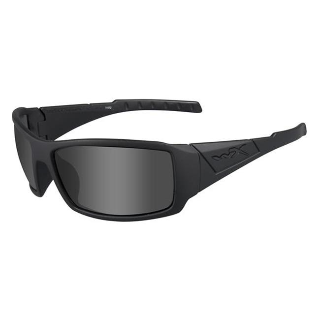Wiley X Twisted Polarized Smoke Gray Matte Black