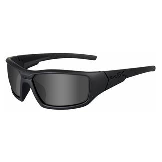 Wiley X Censor Matte Black Polarized Smoke Gray