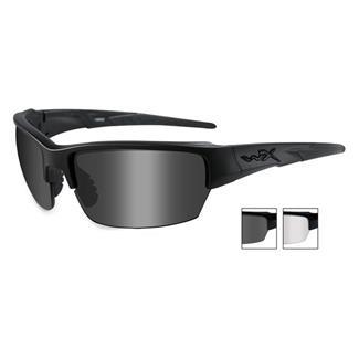 Wiley X Saint Smoke Gray / Clear Matte Black 2 Lens